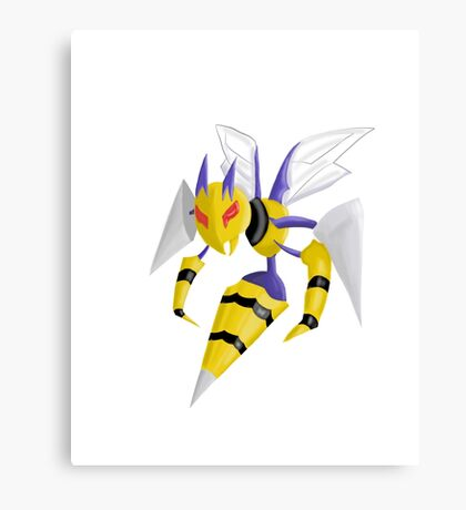Pokemon Mega Beedrill Canvas Print