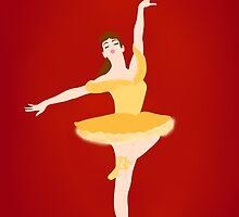 Belle ballerina by franerys