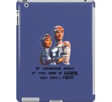 Tron Ghostbusters Mashup iPad Case/Skin
