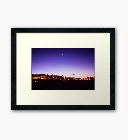 Sunrise over Ferragudo Framed Print