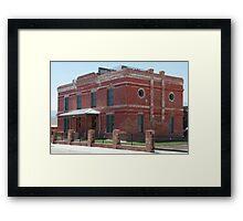 Restored 1880's Homes III Framed Print