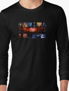 Fate Stay Night Long Sleeve T-Shirt