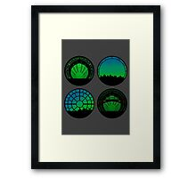 Wicked | Set Circles Framed Print