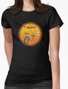 Huffy Vintage Highrise Bicycles USA Womens Fitted T-Shirt