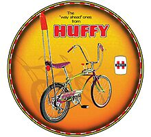 Huffy Vintage Highrise Bicycles USA Photographic Print