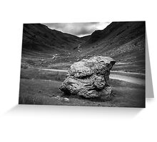 Honister Pass Lake District UK Greeting Card