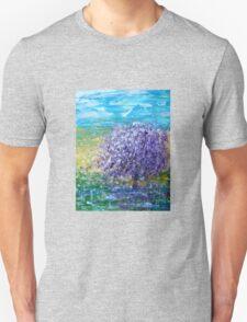 Purple Blossoms Unisex T-Shirt