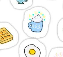 Breakfast Bundle  Sticker