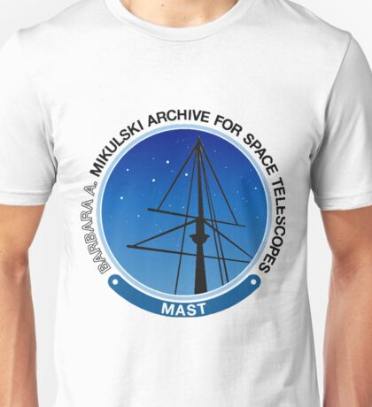 Mikulski Archive for Space Telescopes (MAST) Logo Unisex T-Shirt