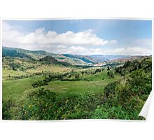 Yunguilla Valley in the Andes Mountains, Ecuador Poster