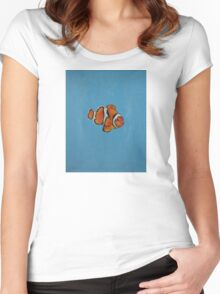 Clownfish Women's Fitted Scoop T-Shirt