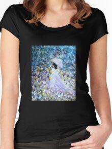 Walk In The Garden Women's Fitted Scoop T-Shirt