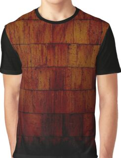 Grunge Wood Graphic T-Shirt