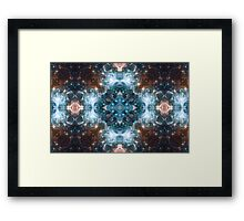 Kaleidoscope Stars And Space Framed Print