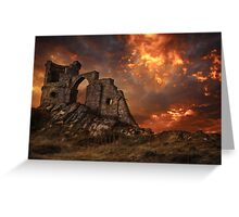 Fire & Brimstone Greeting Card