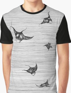 Manta rays in flight Graphic T-Shirt