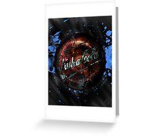 Nuka Cola Cap Greeting Card