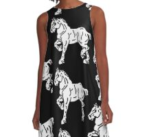 Draft Horse  A-Line Dress