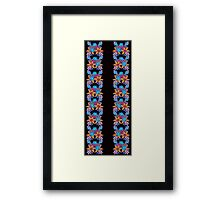 Cute Floral Pattern Framed Print