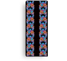 Cute Floral Pattern Canvas Print