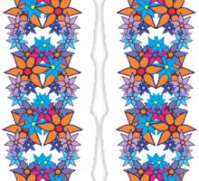 Cute Floral Pattern Sticker