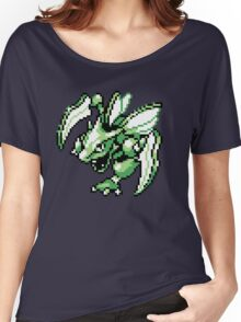 Scyther - Pokemon Red & Blue Women's Relaxed Fit T-Shirt