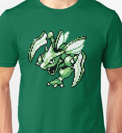Scyther - Pokemon Red & Blue Unisex T-Shirt