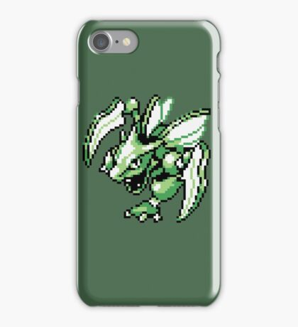 Scyther - Pokemon Red & Blue iPhone Case/Skin