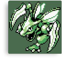 Scyther - Pokemon Red & Blue Canvas Print