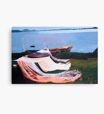 Boats in Kenya Canvas Print