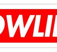 LOWLIFE. Sticker
