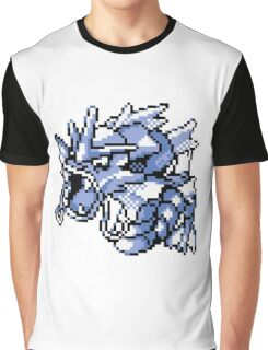 Gyarados - Pokemon Red & Blue Graphic T-Shirt