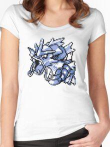 Gyarados - Pokemon Red & Blue Women's Fitted Scoop T-Shirt