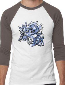 Gyarados - Pokemon Red & Blue Men's Baseball ¾ T-Shirt
