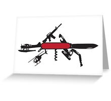 Multi-Tool Tee Shirts and More Greeting Card
