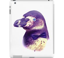 smart penguin  iPad Case/Skin