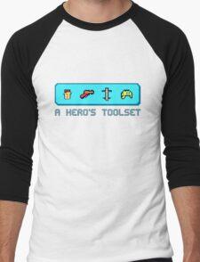 A Hero's Toolset Men's Baseball ¾ T-Shirt