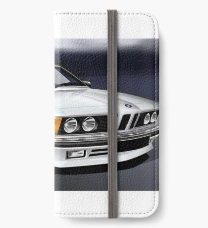 Poster artwork - E24 6 Series 635 CSI White iPhone Wallet/Case/Skin