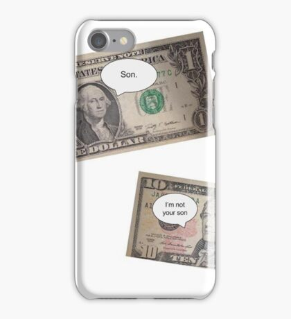 Hamilton -- Not Your Son iPhone Case/Skin