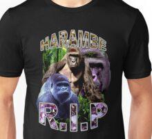 R.I.P. Harambe Vintage Hip-Hop Unisex T-Shirt
