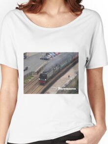Southern Railway 34067 'Tangmere' at Dawlish Women's Relaxed Fit T-Shirt