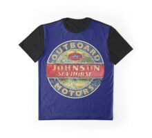 Johnson Seahorse Vintage Outboard motors Graphic T-Shirt
