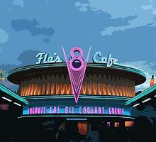 Flo's Cafe by princesskoko