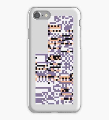 MISSINGNO. - Pokemon Red & Blue iPhone Case/Skin