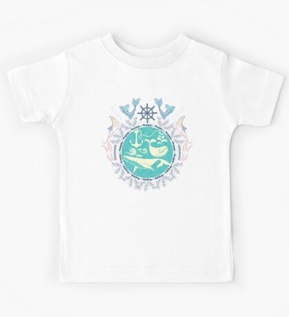 The Paradise: Whales world Kids Tee