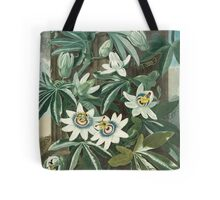 Blue Passion Flower Tote Bag