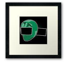 Zeo Ranger IV Framed Print
