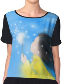 Against the Wind Chiffon Top
