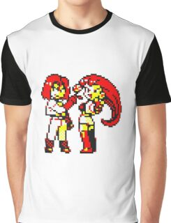 Team Rocket - Jesse & James - Pokemon Yellow Graphic T-Shirt