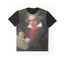 the abstract beethoven Graphic T-Shirt